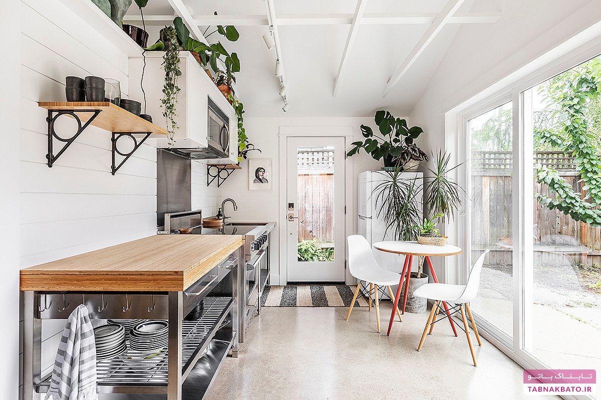 ایدهای کاربردی برای استفادهی بهتر از فضای آشپزخانه