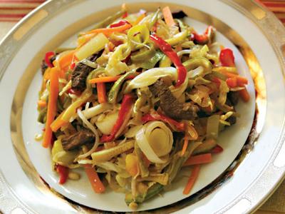 کباب مغولی، خوراکی خوشمزه و لذیذ