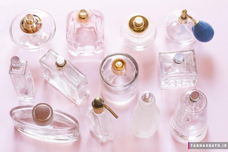 ایدههایی برای استفاده از شیشههای خالی عطر برای تزیین