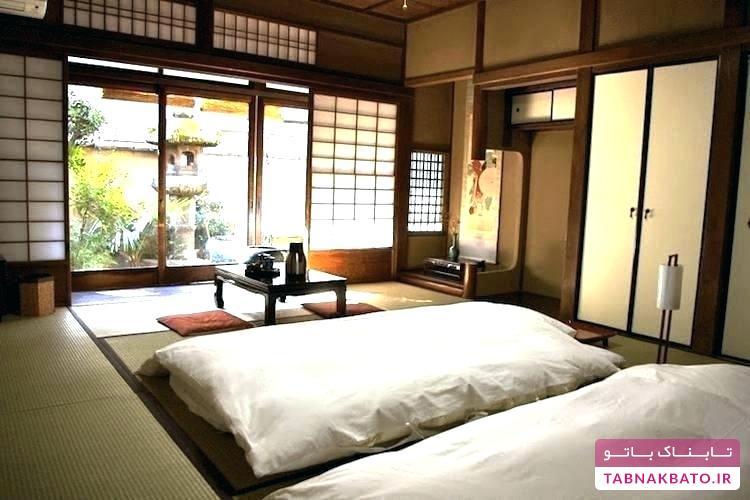 چیدمان اتاق خواب به سبک ژاپنیها