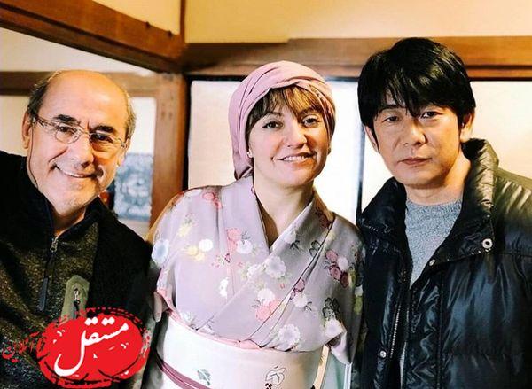 لباس ژاپنی مهناز افشار + عکس