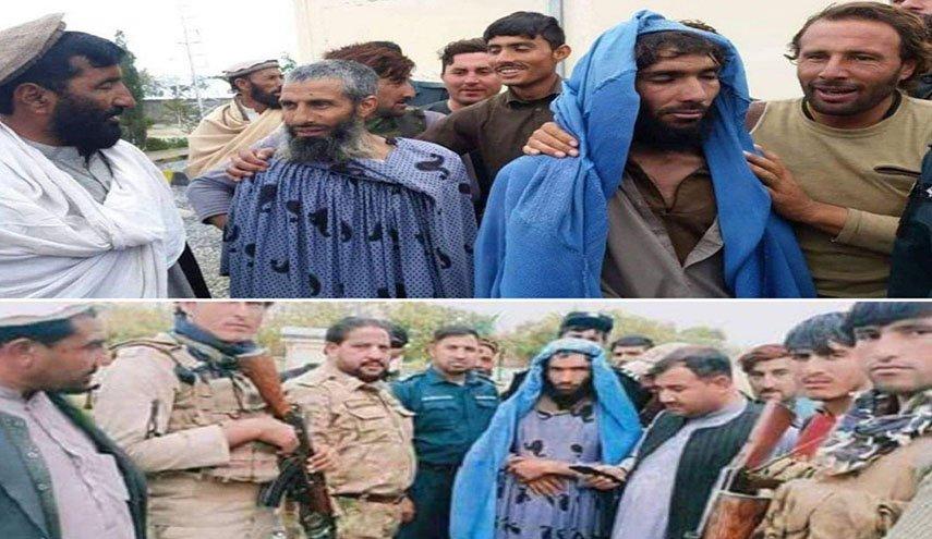 بازداشت چهار داعشی با لباس مبدل زنانه +عکس