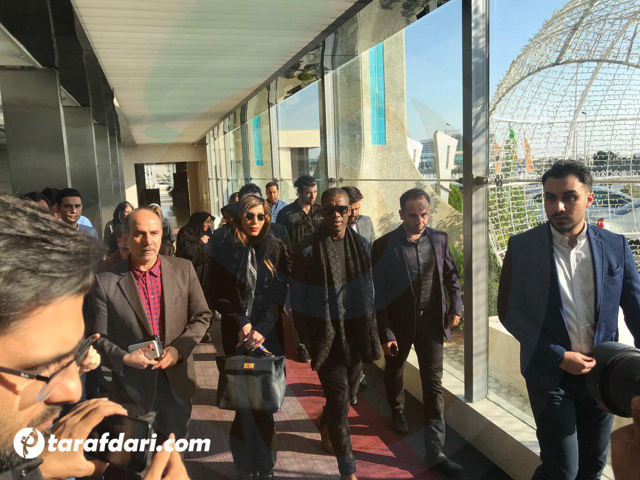 ستاره سابق تیم فوتبال میلان در تهران + عکس
