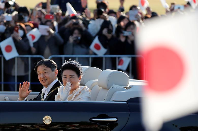 آغاز دوره جدید ژاپن و پایان جشنهای امپراتوری