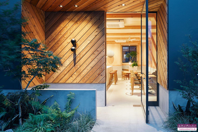 طراحی جالب و متفاوت یک کافه در توکیو