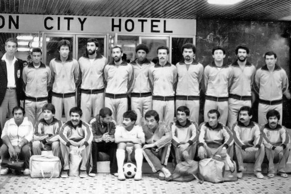 تصویری از تیم فوتبال ایران که قربانی طرحی عجیب شد