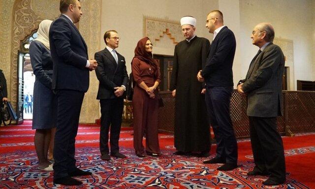 پوشش حجاب ولیعهد سوئد جنجالبرانگیز شد +عکس