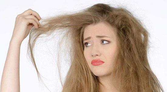 روشهای خانگی برای وز نشدن موها
