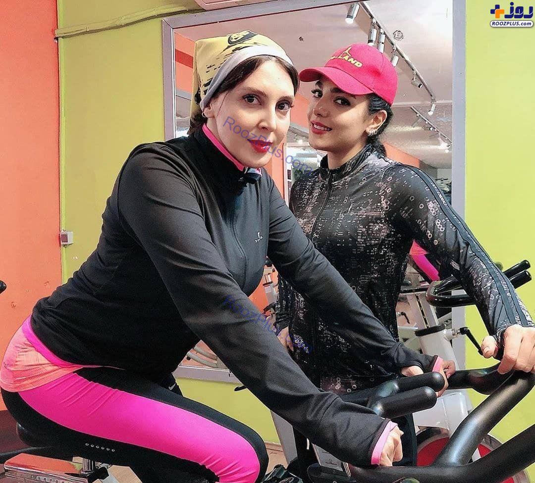 لیلا بلوکات در باشگاه بدنسازی+عکس