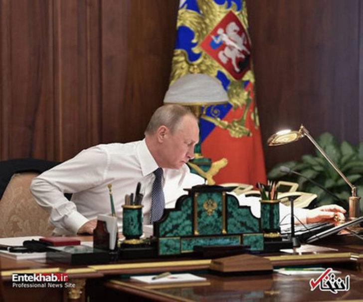 دفتر کار شیک ولادیمیر پوتین