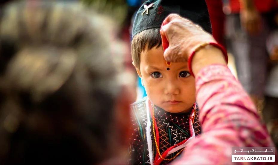 راز علامت روی پیشانی هندی ها