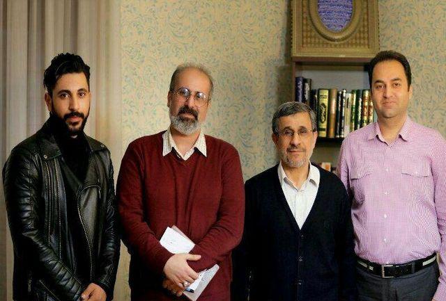 مشاور احمدی نژاد رابط آمدنیوز از آب درآمد +عکس