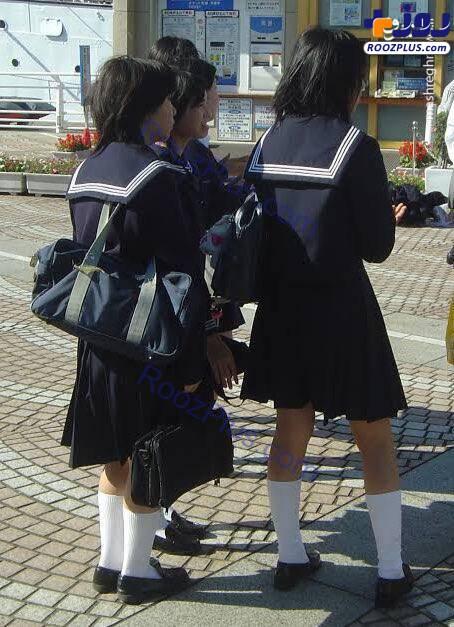 پوشش متفاوت دختران ژاپنی در مدرسه+عکس