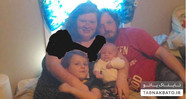 کودک بی رحم پنج تن را به آتش کشید