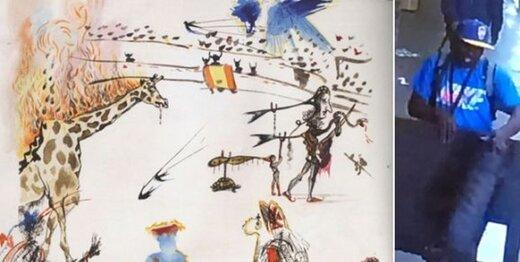 سرقت عجیب تابلو نقاشی مشهور +عکس