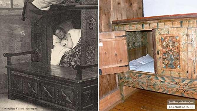 صندوقهای خواب در قرون وسطا