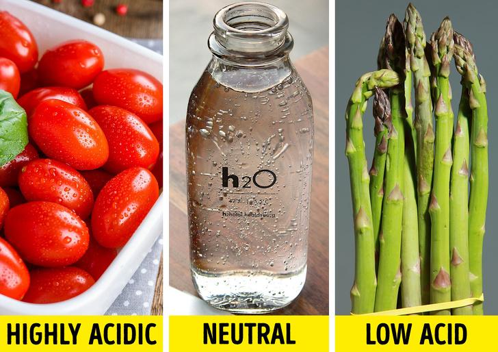 مواد غذایی اسیدی که معده شما از آن ها بیزار است