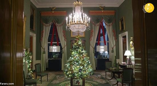 رونمایی ملانیا ترامپ از تزئینات کریسمس کاخ سفید