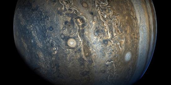 تصویر روز ناسا از ناشناختههای «مشتری»
