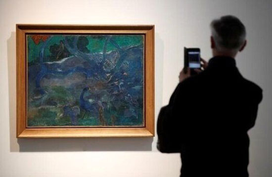 رکورد ۹ میلیون یورویی نقاش فرانسوی