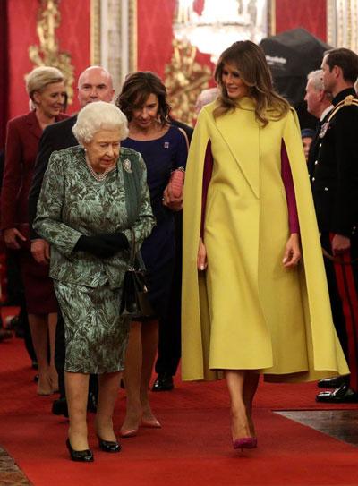 مهمانیِ ملکهی انگلیس برای هفتاد سالگیِ ناتو+عکس