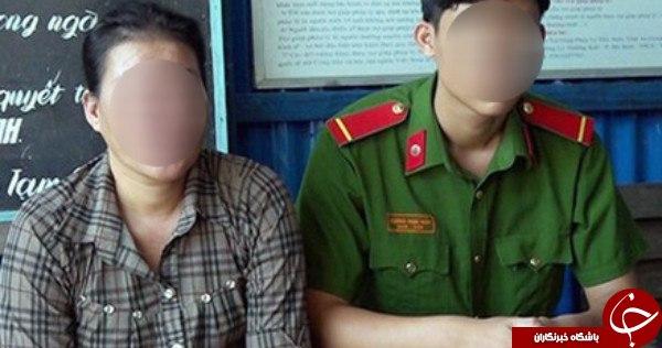 اقدام تکاندهنده زن ویتنامی برای داشتن گوشی آیفون+عکس