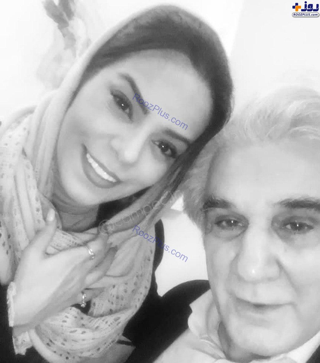 عکس جدید مهدی هاشمی با همسر دومش