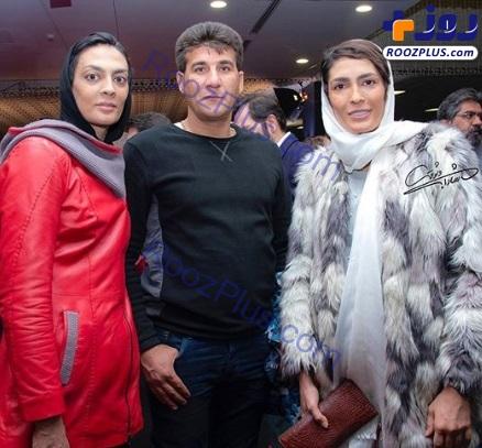 خواهران منصوریان در اکران خصوصی مطرب +عکس