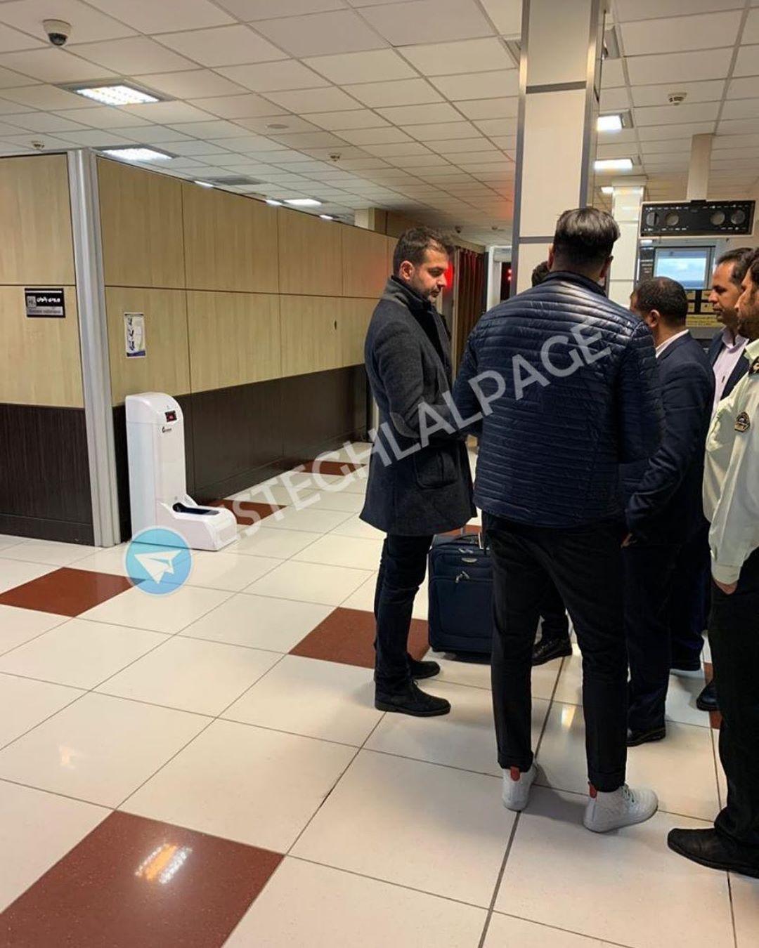 استراماچونی، ایران را به مقصد ترکیه ترک کرد+عکس