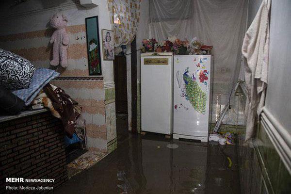 این سیلاب نیست، فاضلاب است!