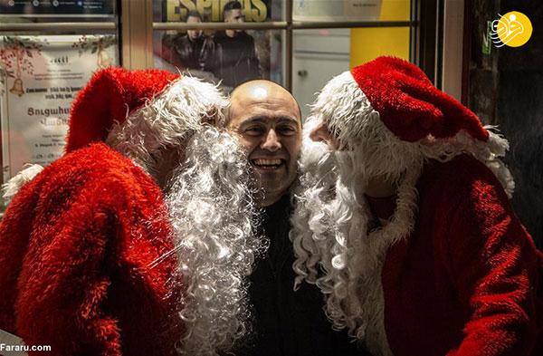 حال و هوای تهران در آستانه کریسمس+عکس