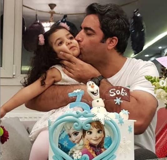 جشن تولد فرزند منوچهر هادی و یکتا ناصر+عکس