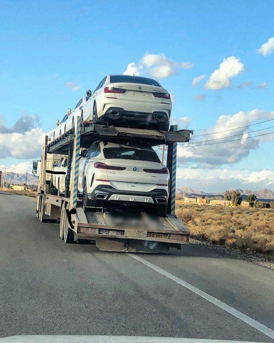 محموله BMW مدل ۲۰۲۰ در جادههای ایران +عکس