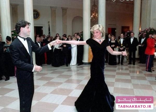 شکست حراجی لباس رقص پرنسس معروف انگلیسی
