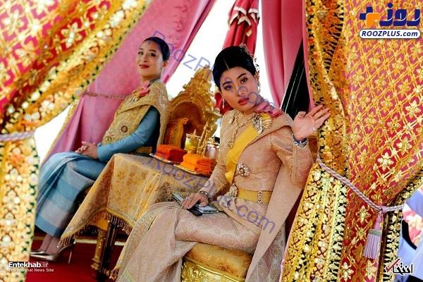 دو شاهزاده تایلند در یک مراسم +عکس