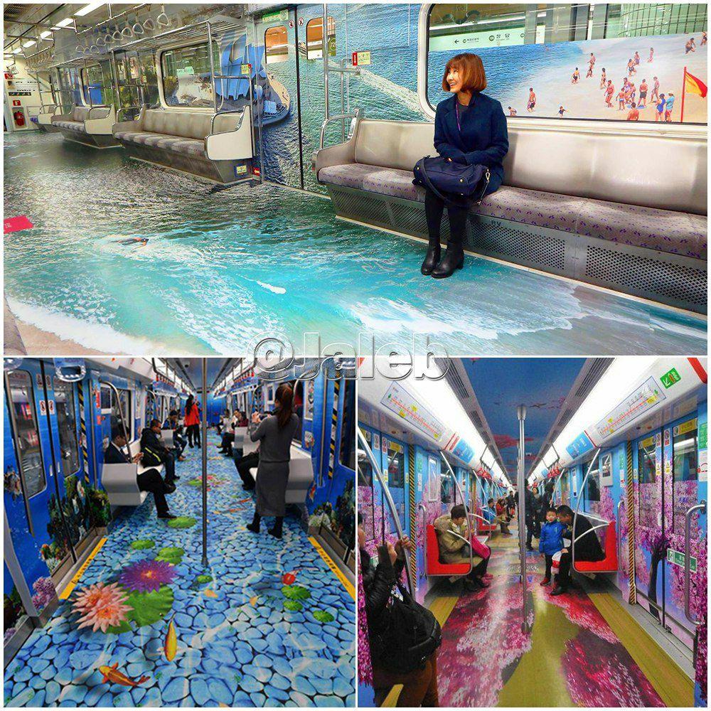 ایستگاه های متروی جذاب در کره جنوبی+ عکس