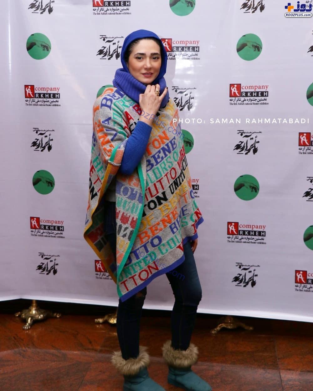 مینا وحید با لباس های عجیب در جشنواره+عکس