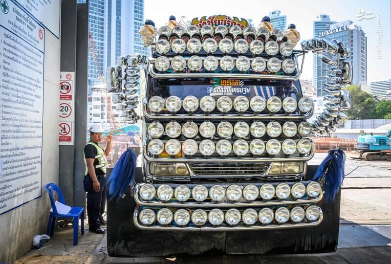 کامیونی خاص در تایلند +عکس