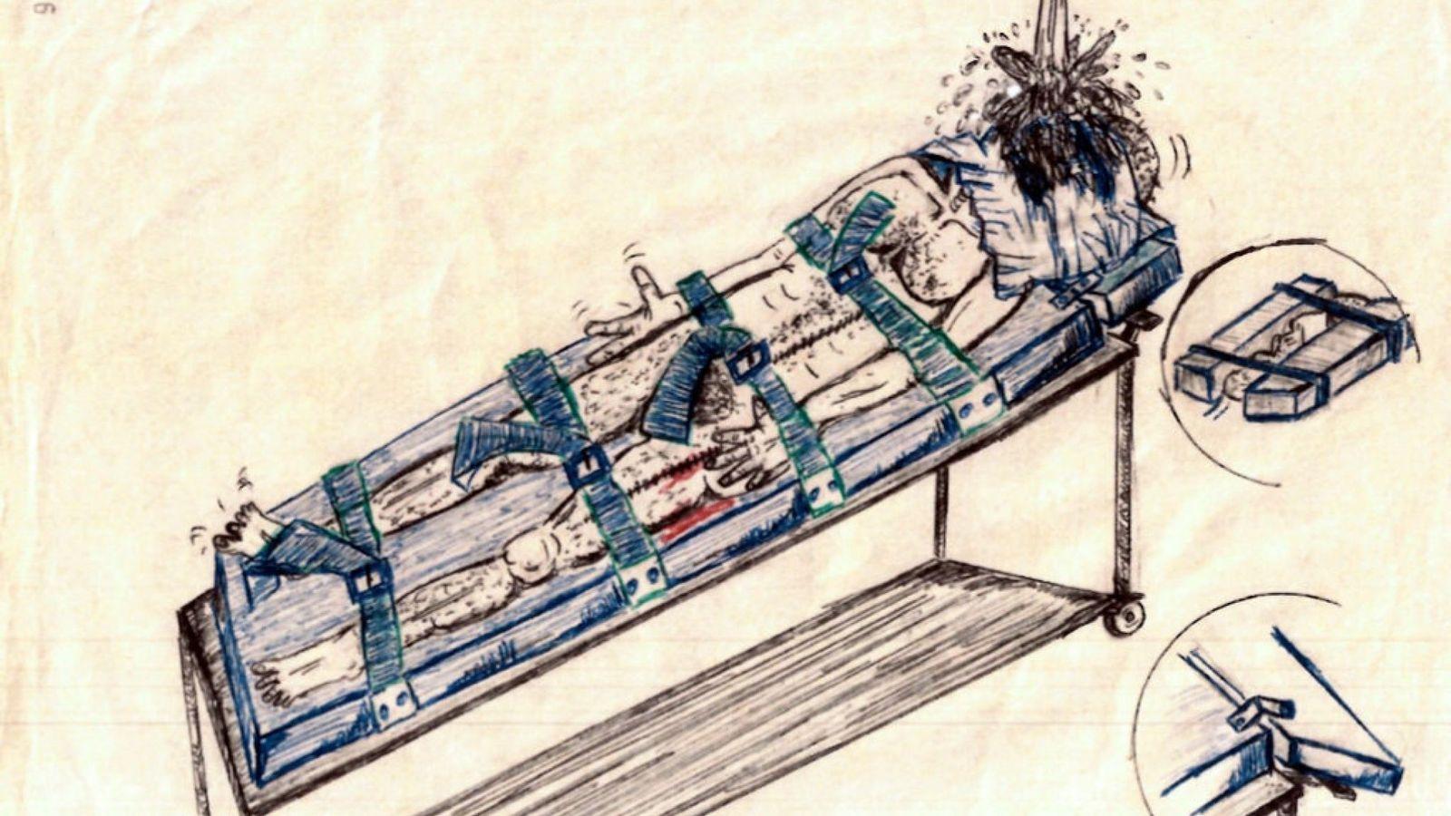 تکنیکهای ترسناک شکنجه سازمان سیا پس از حملات یازده سپتامبر به روایت تصویر