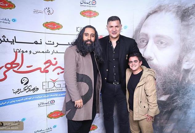 علی دایی در کنسرت خواننده معروف+عکس