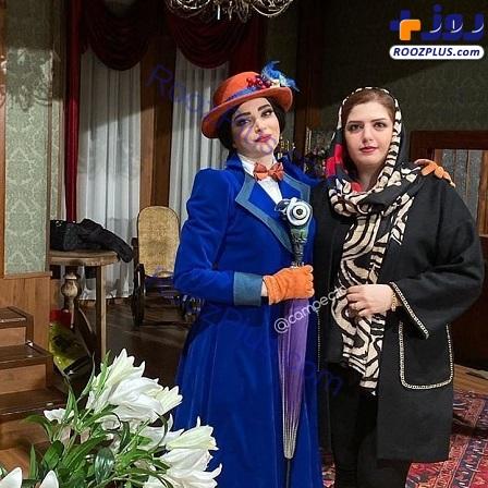 بهنوش طباطبایی در کنار خواهرش+عکس