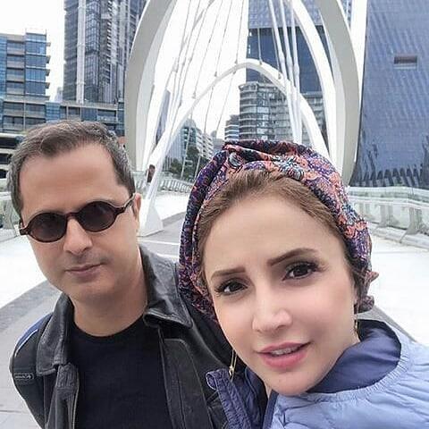 شبنم قلی خانی و همسرش در استرالیا +عکس