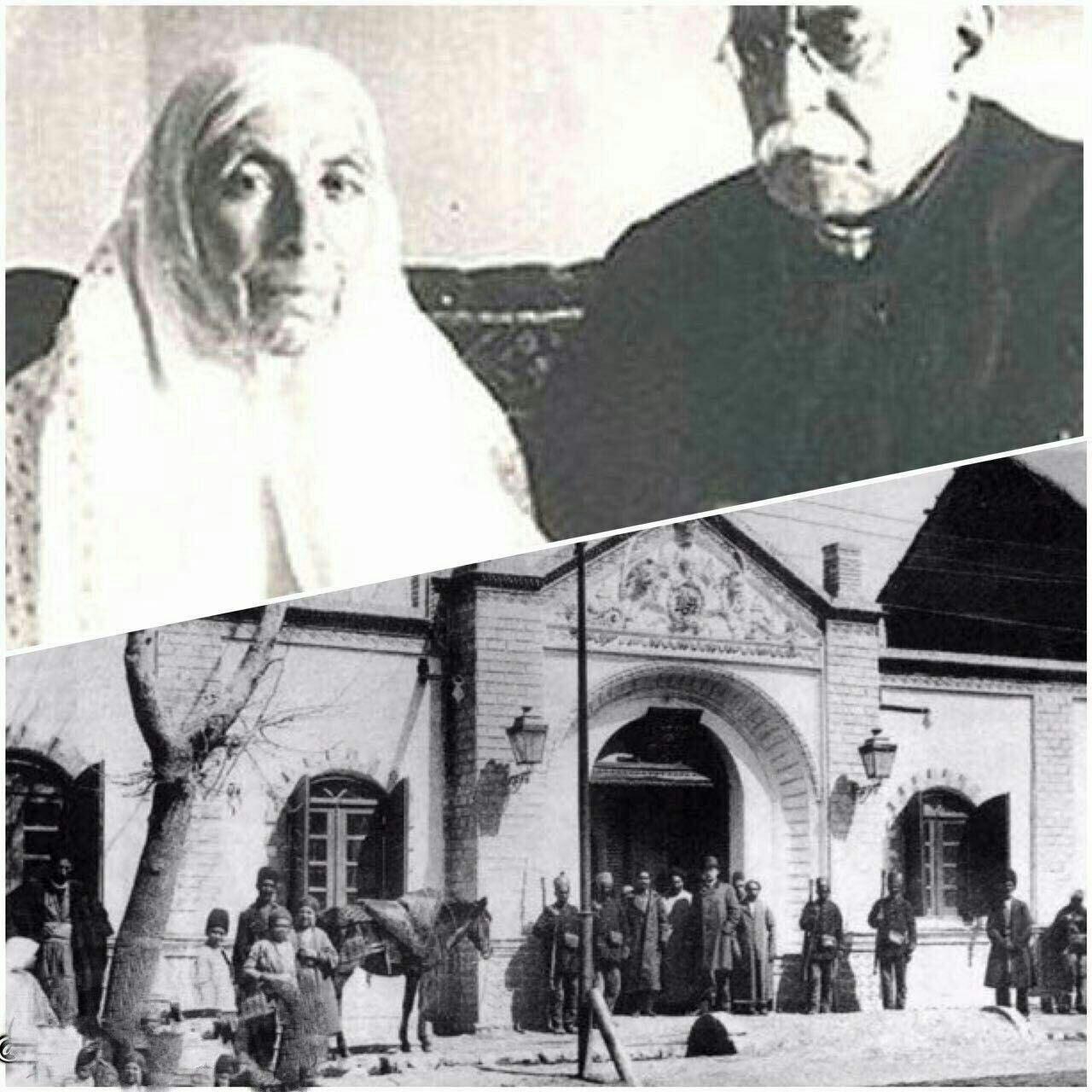 این زن اولين موسس بيمارستان مدرن در ایران بود +عکس
