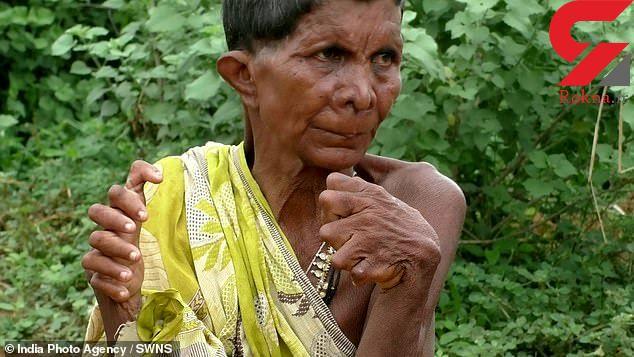 عجیب ترین زن دنیا +عکس