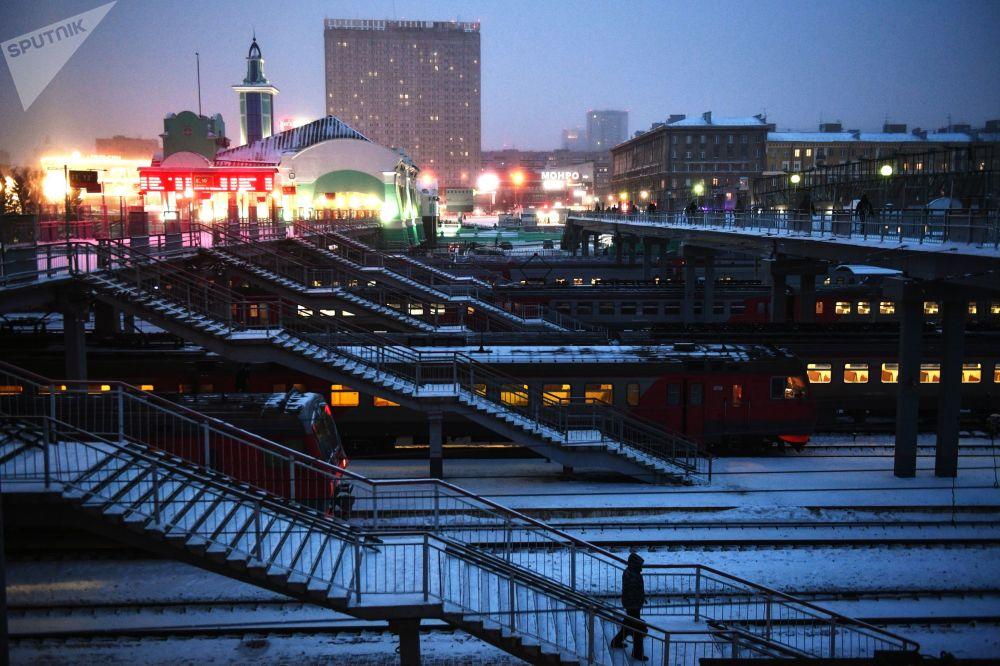 فصل یخبندان در سیبری فرا رسید + عکس