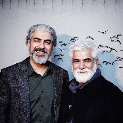 حضور هنرمندان در نمایشگاه عکس مهدی پاکدل