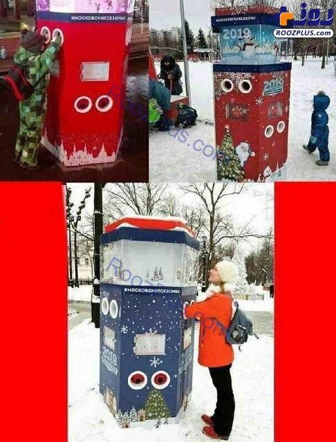 اقدام جالب شهردار مسکو برای گرم شدن در زمستان+عکس