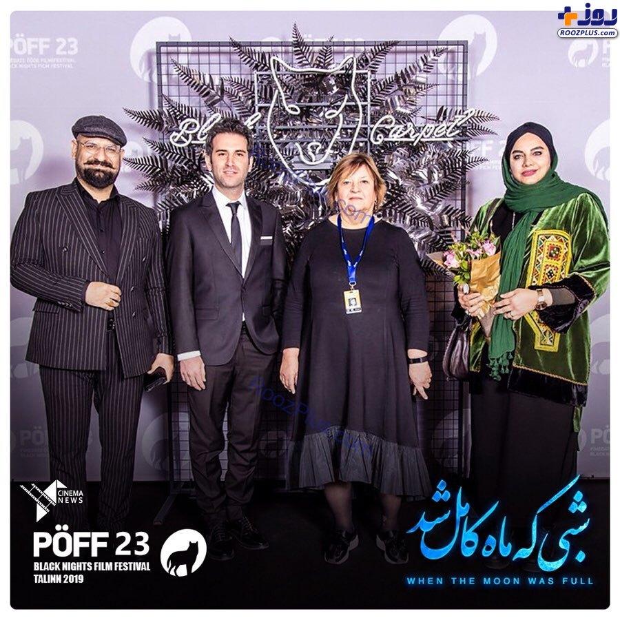 تیپ هوتن شکیبا و نرگس آبیار در جشنواره «شبهای سیاه تالین»+عکس