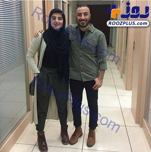 پوشش های عجیب و غریب نوید محمدزاده و برادرزاده اش+عکس