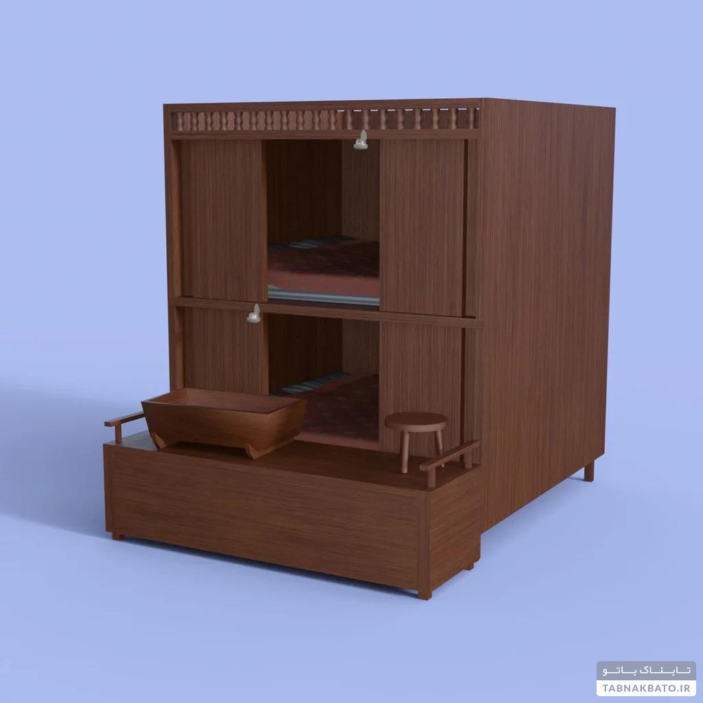 صندوق های خواب در قرون وسطا